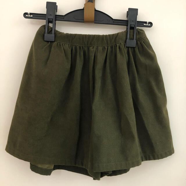 petit main(プティマイン)の【petit main】キュロットスカート 130 キッズ/ベビー/マタニティのキッズ服女の子用(90cm~)(スカート)の商品写真