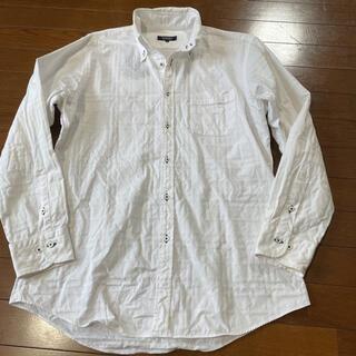 バーバリーブラックレーベル(BURBERRY BLACK LABEL)の大きめバーバリーブラックレーベル☆シャドゥノバチェック柄長袖シャツ(シャツ)