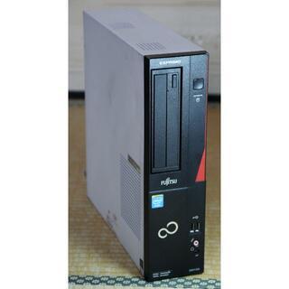 フジツウ(富士通)の富士通 ESPRIMO D551/GX Win10 32Bit C G1620(デスクトップ型PC)