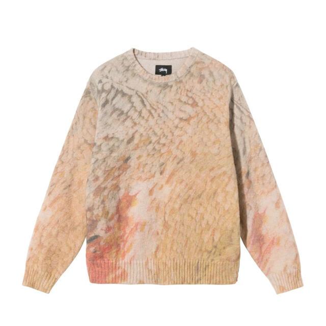 STUSSY(ステューシー)の【即日発送可】Stussy Wings Print knit Sweater M メンズのトップス(ニット/セーター)の商品写真