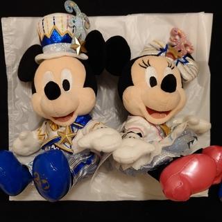 Disney - ディズニーシー 20周年 ペアぬいぐるみ(※アクセサリなし)