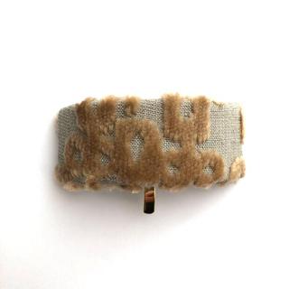 ミナペルホネン(mina perhonen)のミナペルホネン  ハンドメイド ポニーフック ヘアカフ(ヘアアクセサリー)