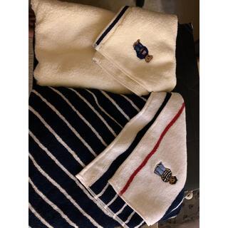 ラルフローレン(Ralph Lauren)のラルフローレン ポロベア バスタオル セット(タオル/バス用品)
