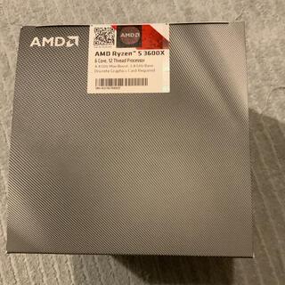 【新品・未開封】AMD Ryzen 5 3600X BOX