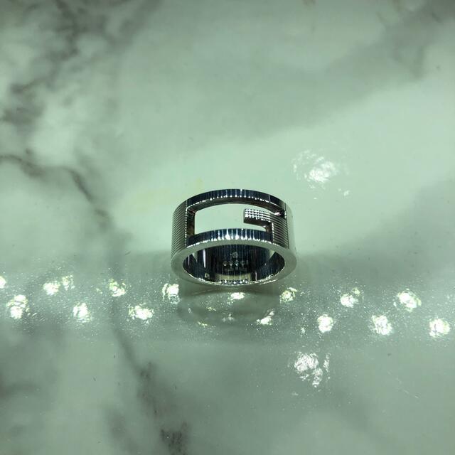 Gucci(グッチ)の中古 グッチ シルバー リング 032660 メンズのアクセサリー(リング(指輪))の商品写真