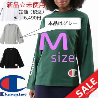 チャンピオン(Champion)のチャンピオン Champion ロングスリーブTシャツ グレー CW-Q402(Tシャツ(長袖/七分))