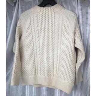 ユナイテッドアローズ(UNITED ARROWS)のユナイテッドアローズ  ホワイトセーター(ニット/セーター)