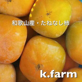 家庭用 和歌山産たねなし柿  7.5キロ