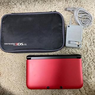 ニンテンドー3DS(ニンテンドー3DS)のNintendo 3DS LL レッド(携帯用ゲーム機本体)