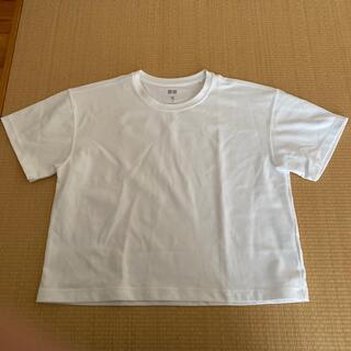 ユニクロ(UNIQLO)のUNIQLO ユニクロ トップス Tシャツ 半袖(Tシャツ(半袖/袖なし))