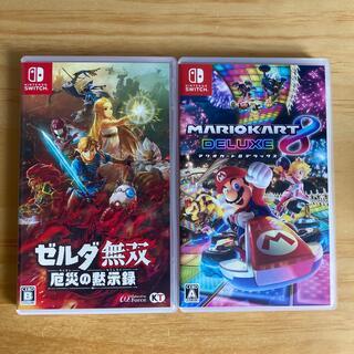 Nintendo Switch - マリオカート8 ゼルダ無双 任天堂 Switch