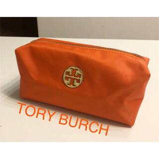 トリーバーチ(Tory Burch)のTORY BURCH ポーチ 化粧ポーチ 小物入れ レディース オレンジ(ポーチ)