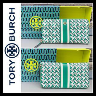 トリーバーチ(Tory Burch)の箱あり■大丸購入■TORY BURCH トリーバーチ 財布 本革レザー 限定品(財布)