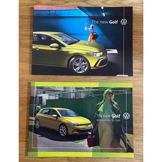フォルクスワーゲン(Volkswagen)のフォルクスワーゲン The new Golf カタログ 車体/アクセサリー 2冊(カタログ/マニュアル)