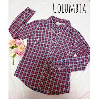 コロンビア(Columbia)のコロンビアトップス Columbia シャツ チェック ブラウス 長袖 秋服(シャツ/ブラウス(長袖/七分))