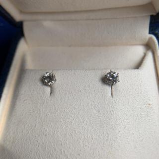 1カラット ダイヤモンド プラチナ ピアス