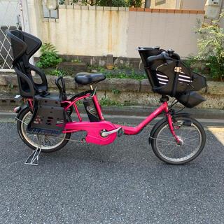 Panasonic - 子供乗せ電動アシスト自転車◇Panasonic◇GYUTTO◇20型◇3段ギア