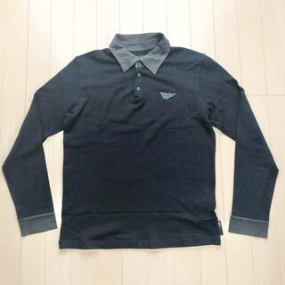 エンポリオアルマーニ(Emporio Armani)のEMPORIO ARMARNI RUGGER SHIRT SIZE M(ポロシャツ)