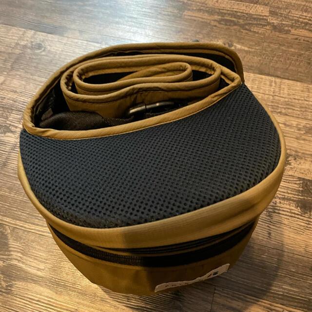 POLBAN  ヒップシート ベージュ 美品 キッズ/ベビー/マタニティの外出/移動用品(抱っこひも/おんぶひも)の商品写真