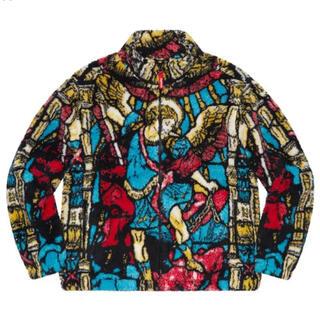 Supreme - Supreme Saint Michael Fleece Jacket Lサイズ
