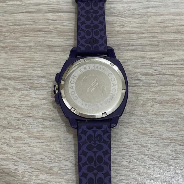 COACH(コーチ)の【ホースマークバカ様専用】COACH 腕時計 レディースのファッション小物(腕時計)の商品写真