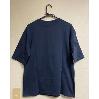 UNIQLO - UNIQLO エアリズム コットン オーバーサイズ Tシャツ (5分袖)
