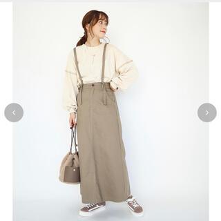 しまむら - てらさん terawear emu サス付きスカート M