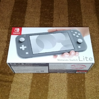 Nintendo Switch - Nintendo Switch Liteグレー 新品 未開封