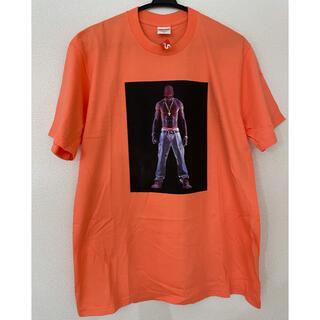 シュプリーム(Supreme)のSupreme シュプリーム Tupac Hologram  ネオンオレンジ M(Tシャツ/カットソー(半袖/袖なし))