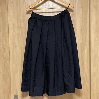 ブラックコムデギャルソン(BLACK COMME des GARCONS)のBlack comme des garcons ギャザースカート XS(ひざ丈スカート)