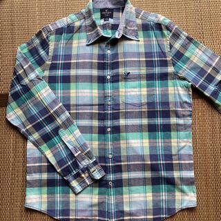 American Eagle - アメリカンイーグル メンズシャツ 長袖