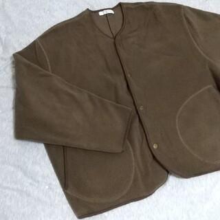 サマンサモスモス(SM2)のSM2blue★フリースのジャケット。(ブルゾン)