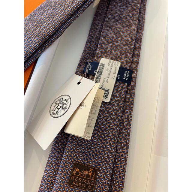Hermes(エルメス)の【未使用タグ付き】エルメスネクタイ/HERMES メンズのファッション小物(ネクタイ)の商品写真