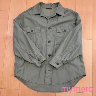 プラージュ(Plage)のPlage  製品加工big armyシャツ 38(シャツ/ブラウス(長袖/七分))
