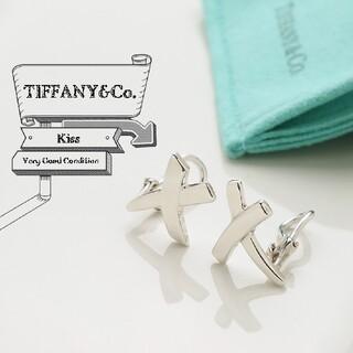 ティファニー(Tiffany & Co.)の新品仕上げ 美品 TIFFANY ティファニー キス 925 イヤリング(イヤリング)