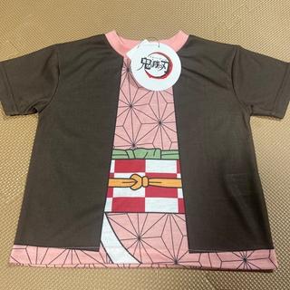 【新品】鬼滅の刃 半袖Tシャツ 100  ねずこ