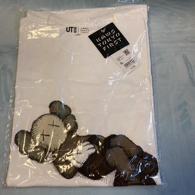 UNIQLO(ユニクロ)の❗️値下げ中❗️ユニクロ×カウズTシャツ KAWS  XL⭐️新品タグ付き⭐️ メンズのトップス(Tシャツ/カットソー(半袖/袖なし))の商品写真