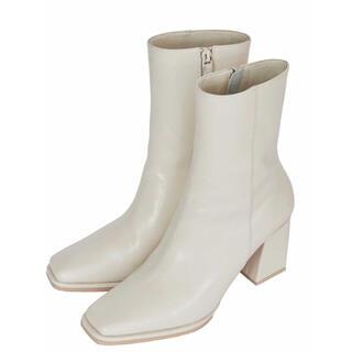 アメリヴィンテージ(Ameri VINTAGE)のアメリヴィンテージ SEAMLESS LITTLE SQUARE BOOTS(ブーツ)