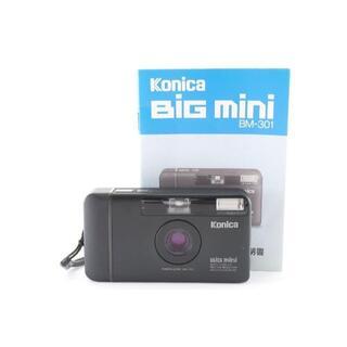 ★説明書付き★ Konica コニカ BIG mini BM-301 カメラ