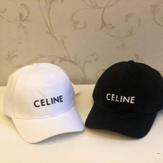 セリーヌ(celine)のCELINE キャップ 帽子  黑(キャップ)