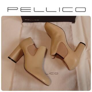 PELLICO - 定価62700円 新品 ペリーコ 新木型 セミスクエアトゥブーツ 36.5