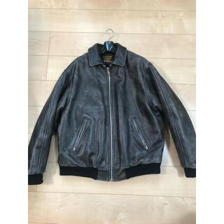 シュプリーム(Supreme)のSupreme vanson Leathers Worn Jacket(レザージャケット)