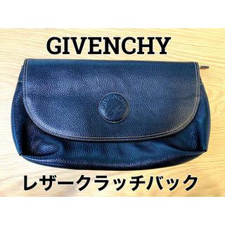 GIVENCHY - GIVENCHY ジバンシー レザークラッチバック