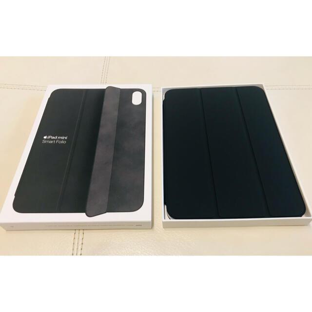 iPad(アイパッド)のApple iPad mini (第6世代) 用 Smart Folio 黒 スマホ/家電/カメラのスマホアクセサリー(iPadケース)の商品写真