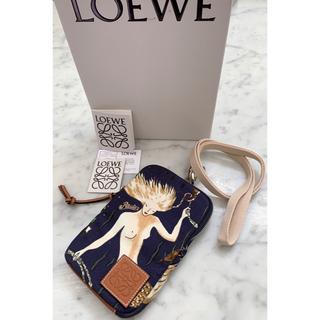 LOEWE - 新品ロエベLOEWE マーメイド2wayクロスボディバッグ 財布 フォンポーチ♪