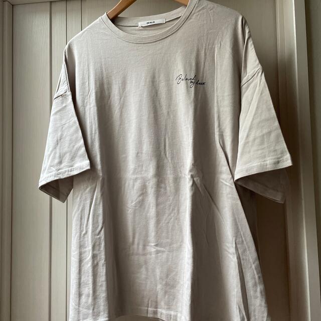 しまむら(シマムラ)の韓国風のイラストTシャツL レディースのトップス(Tシャツ(半袖/袖なし))の商品写真