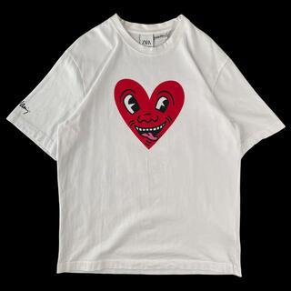ZARA - 【希少XL】ZARA × Keith Haring キース・ヘリング Tシャツ