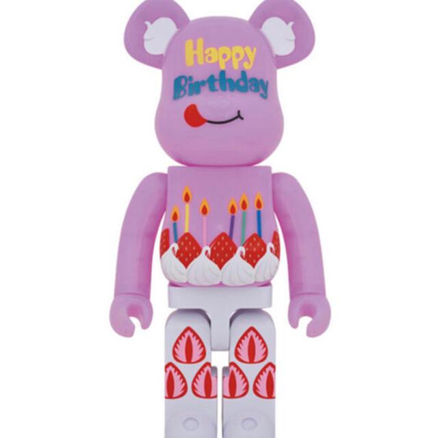 MEDICOM TOY(メディコムトイ)のBE@RBRICK グリーティング誕生日 PLUS 1000% エンタメ/ホビーのフィギュア(その他)の商品写真