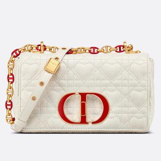 Christian Dior - DIOR CARO スモールバッグ Dioramour カナージュ カーフスキン