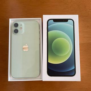 Apple - 美品 SIMフリー iPhone12 mini 128GB グリーン